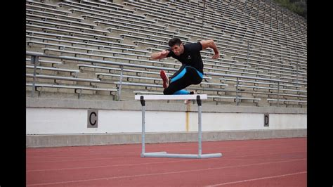 How to Run Faster in the 100 & 110 Hurdles - YouTube