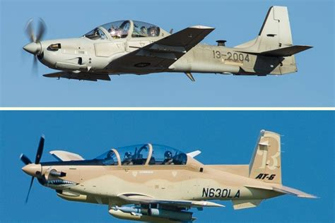 USAF plans to purchase both AT-6 Wolverine and A-29 Super