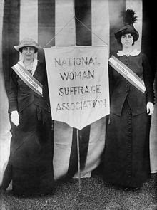 Woodrow Wilson and the Suffrage Movement - Presidential