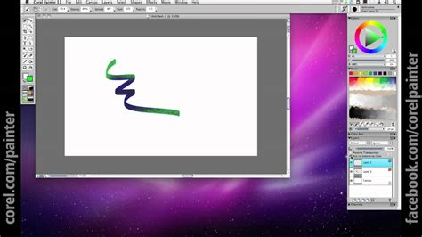 Corel Painter Tutorial: Layers and Transparency - YouTube