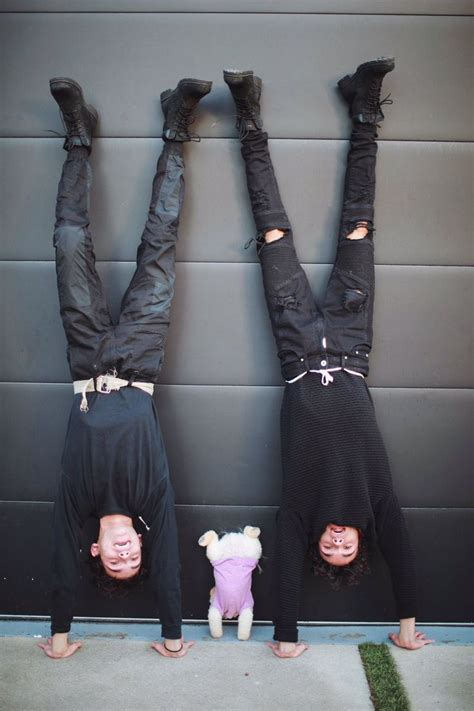 Hanging upside down Marcus Dobre on Twitter | Lucas and