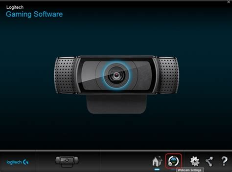 Customize HD Pro Webcam C920 Settings with Logitech Gaming