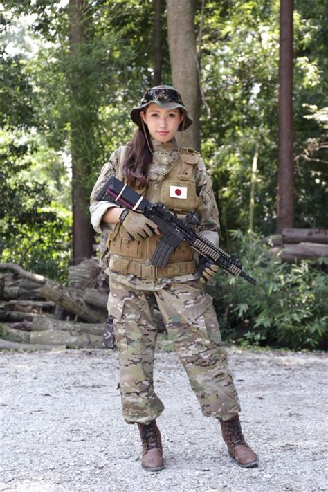 Airsoft Player in Japan