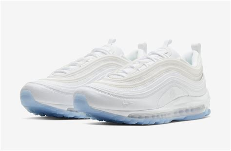 The Nike Air Max 97 White Ice Comes With A White Flame