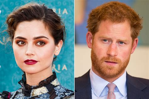 Jenna Coleman and Prince Harry: Watch Dr Who star shut