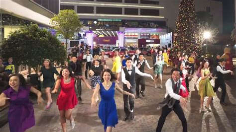 "Another Day of Sun from ""La La Land"" flash mob at 1563 at"