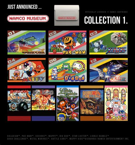 Evercade Announce NAMCO and 2 More Cartridges - Funstock